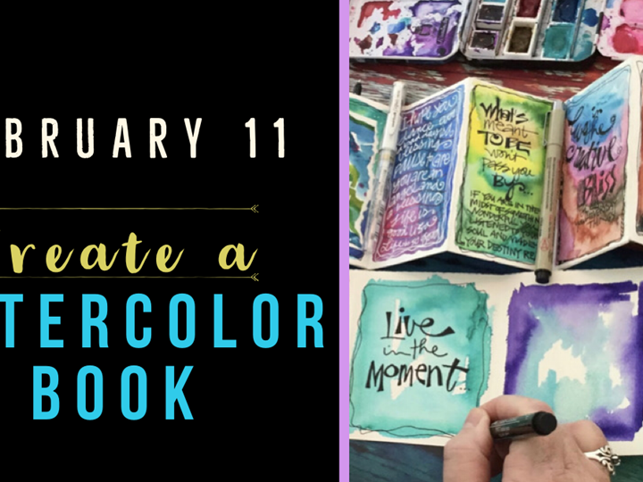 Watercolor Books - Create Art on Tuesdays