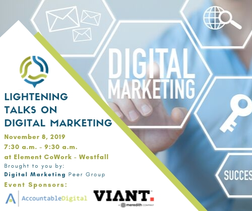 Lightning Talks on Digital Marketing