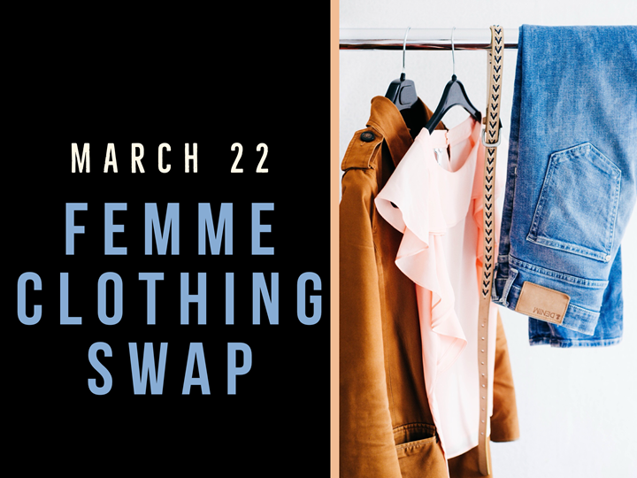 Femme Clothing Swap for all body types